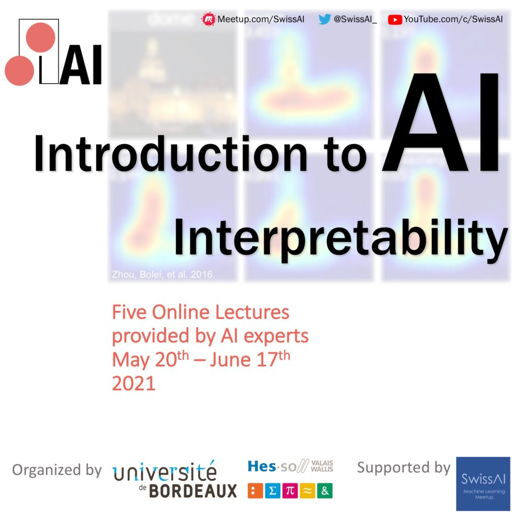 poster for interpretable AI workhop supported by SwissAI