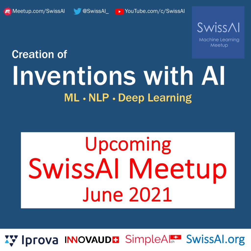 swi ai meetup on NLP and inventions in June 2021